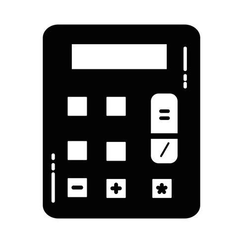 Calculadora financiera de contorno para datos de negocios contables