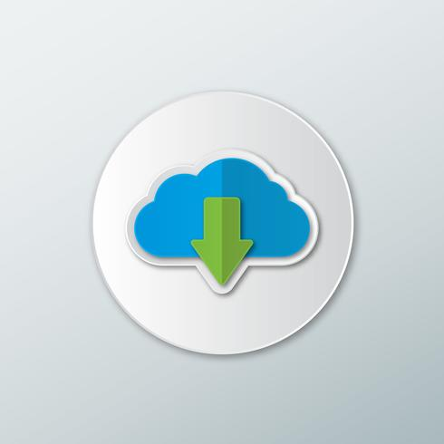 Icon download from the cloud