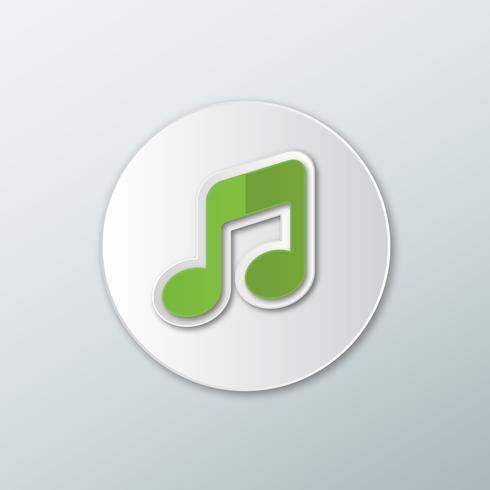 Icona di note musicali