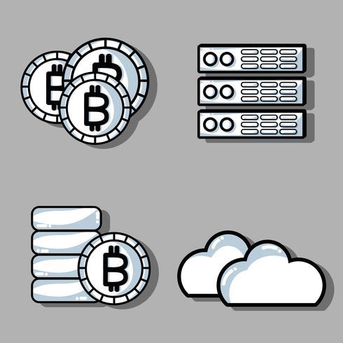 ställa in blockchain säkerhetsteknologi med datacenter