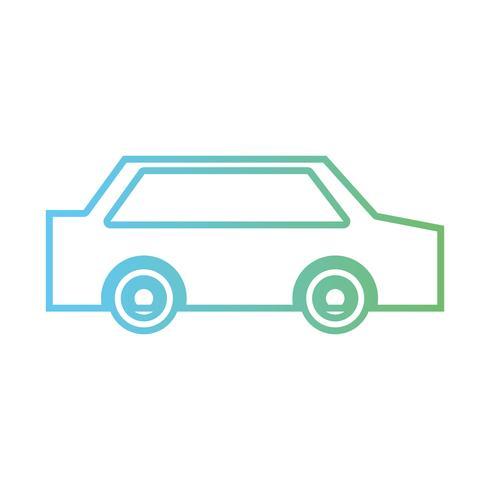 linea auto normale per trasporto e stile moderno