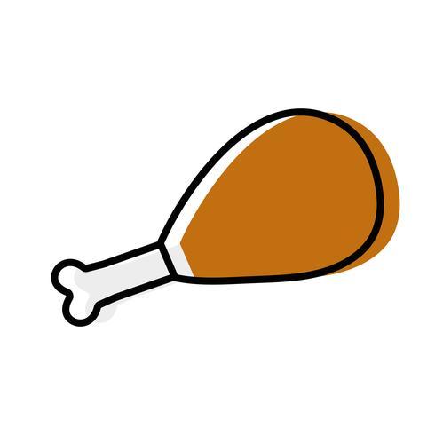 chicken thigh roast resh food