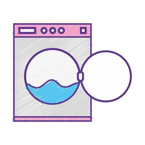 riparazione grattugiata del servizio di tubazioni della lavatrice dell'impianto idraulico