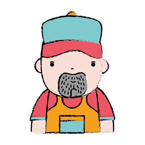 doodle man plumber job to service repair