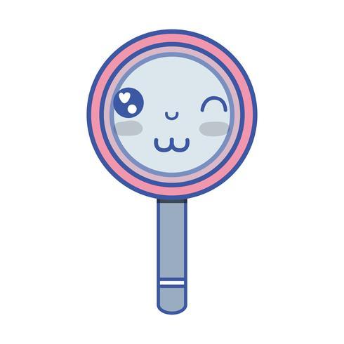 kawaii cute funny magnifying glass