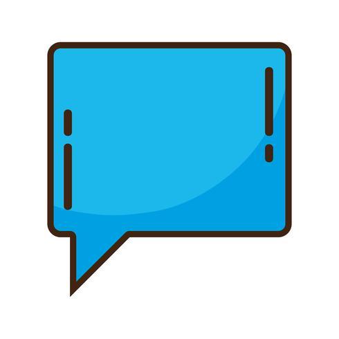 bolla di colore chat note messaggio di testo