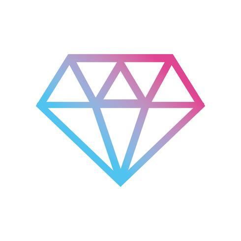 design de moda de diamante de cristal de linha