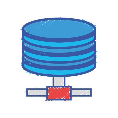 stockage de données de technologie de disque dur
