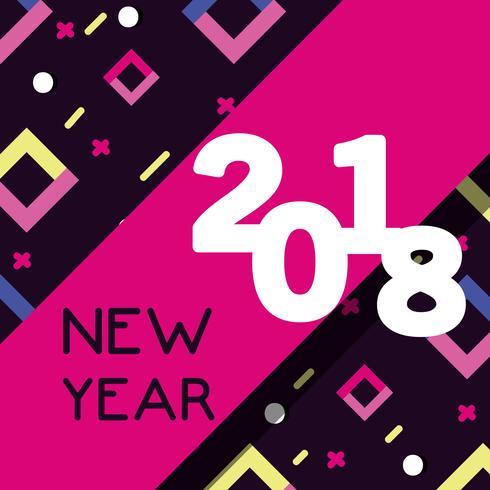 felice anno nuovo figure backgrund design