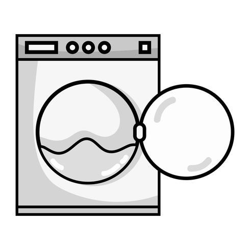 grayscale plumbing washing machine pipe service repair