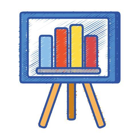 Presentación de la estrategia con barra gráfica de estadísticas.