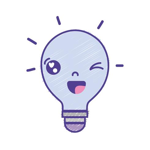 kawaii cute funny bulb idea