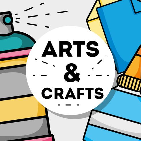 arte e artesanato design criativo objeto