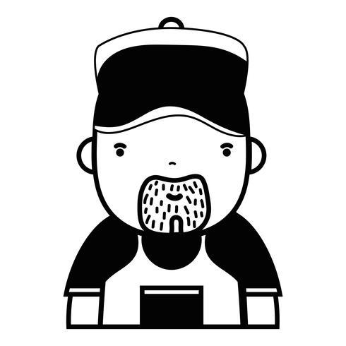 travail de plombier homme contour au service de réparation