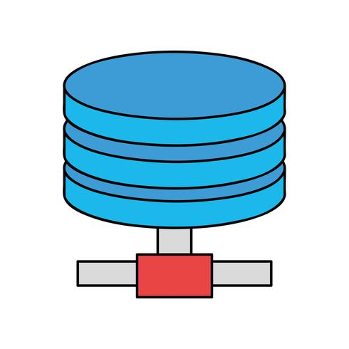 festplattentechnische Datenspeicherung
