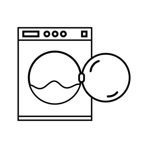 linje VVS tvättmaskin rör reparation