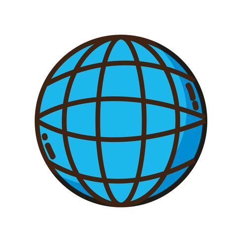 global digital network social connection