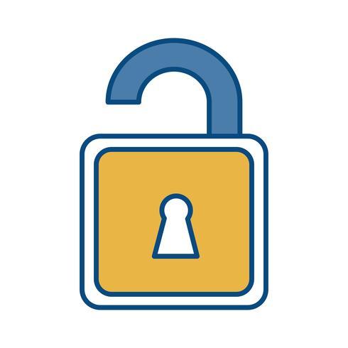 image d'icône de cadenas vecteur