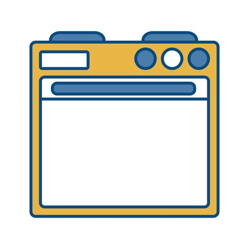 image d'icône de four