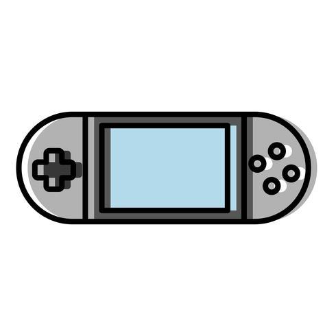 draagbaar videogamepictogram