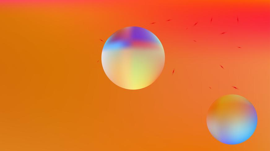 Colorful abstract space background picture blur.