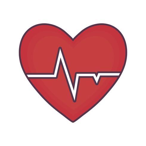 cardio hart pictogram