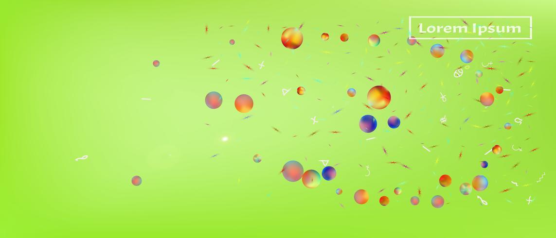 Fondo abstracto de espacio ultra amplio creativo