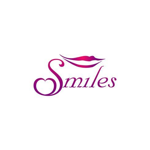 Smile Lips Logo vector