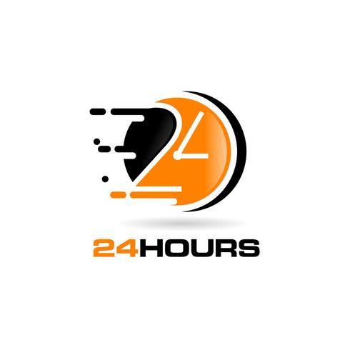 24 timmars logotyp