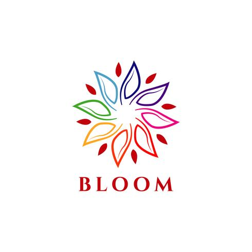 Logotipo de Bloom colorido
