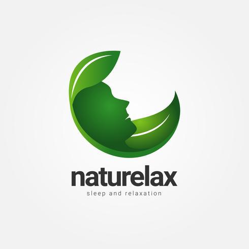 Logo Nature Relax Healthcare vecteur