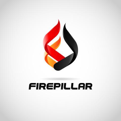 Logo du pilier de feu