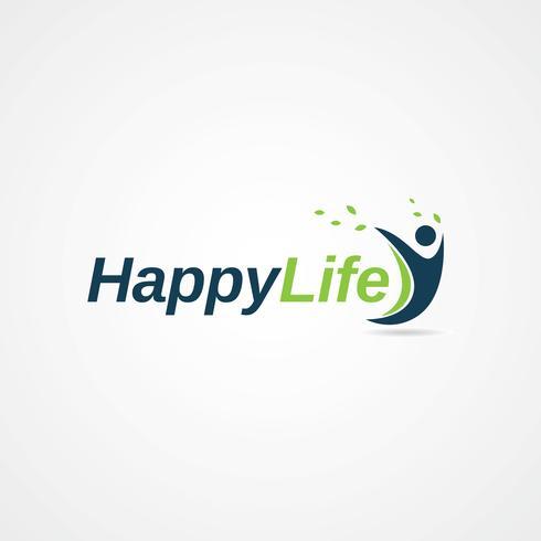Gelukkig leven logo