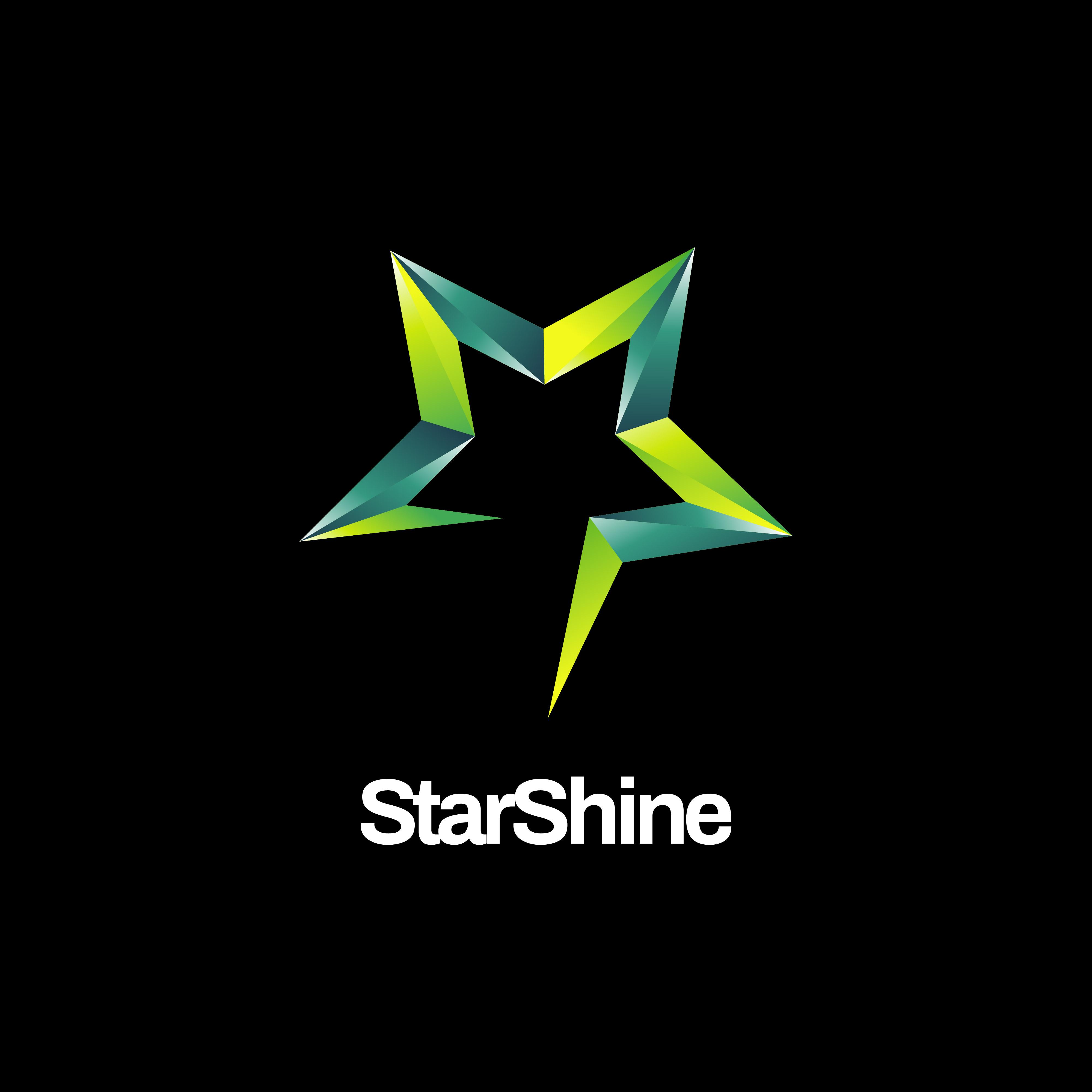 Shiny Green Star Logo - Download Free Vectors, Clipart ...