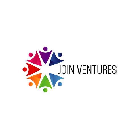 Schließen Sie sich Venture Logo an