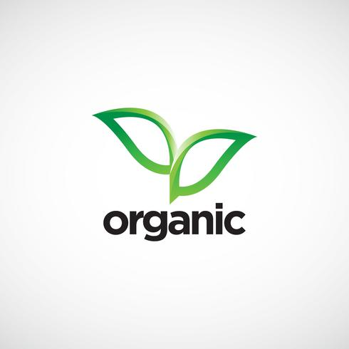 Organic Leaves Logo