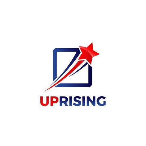 Rising Star-logotypen