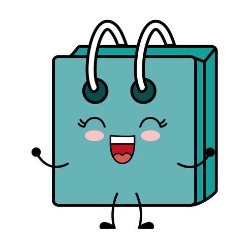 icono de la bolsa de compras vector