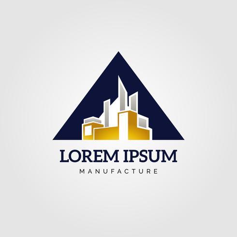 Logotipo de Fabricação Industrial