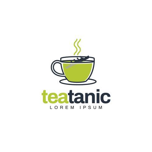 Unique Creative Green Tea Logo Symbol Download Free Vectors Clipart Graphics Vector Art