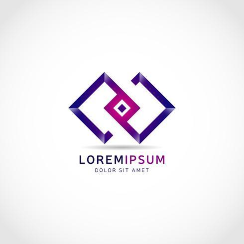 Purple Linked Squares-logo