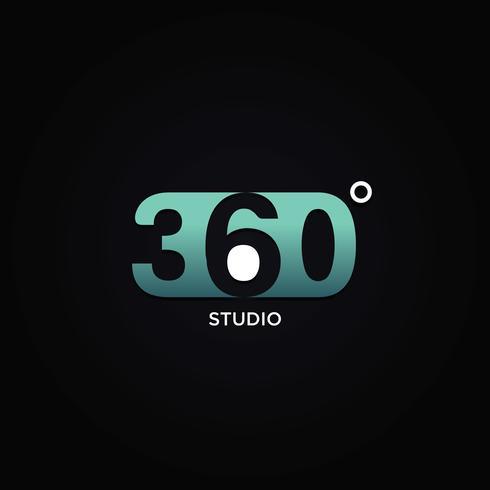 Professioneel 360 graden logo