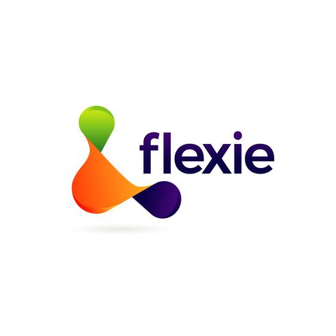 Abstract Colorful Flexible Logo