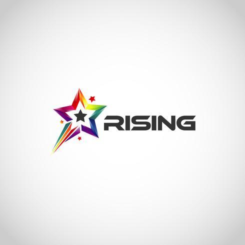 Rainbow Rising Star-logo