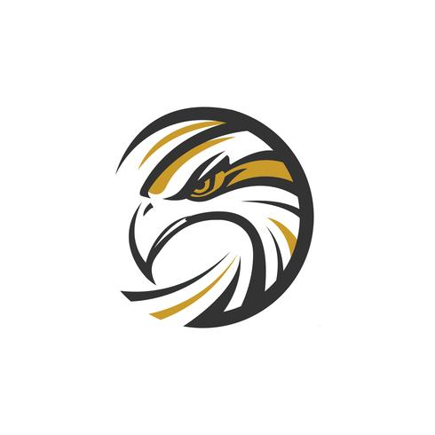 Logo Circle Eagle Sea Hawk