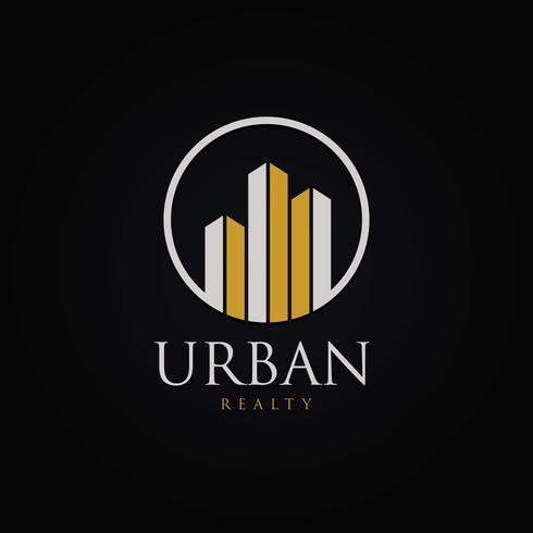 Logo de propriété urbaine circulaire
