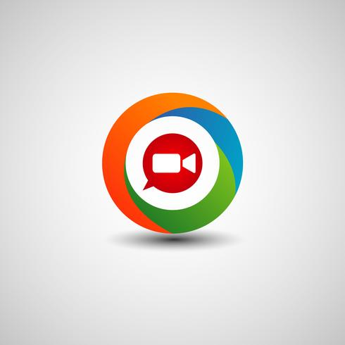 Video-Chat-Internet-Technologie-Logo