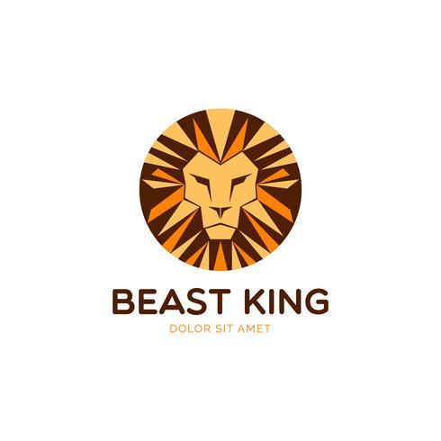 Logo Lion Circle
