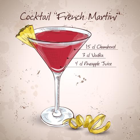 Cocktail Martini francese