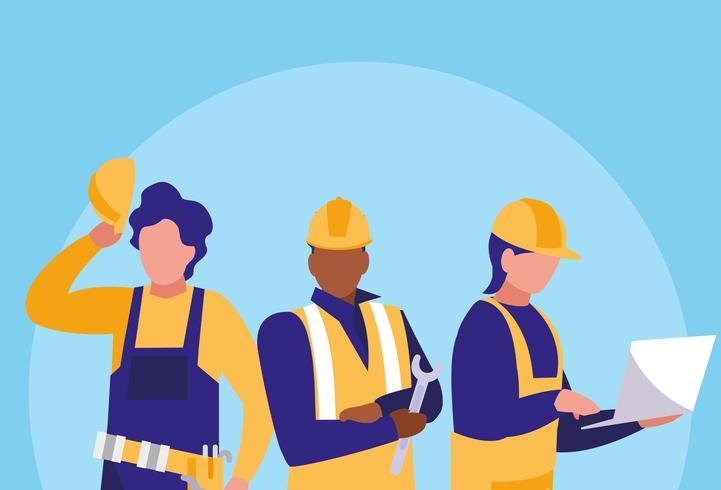 workers industrials avatar character - Download Free Vectors, Clipart Graphics & Vector Art